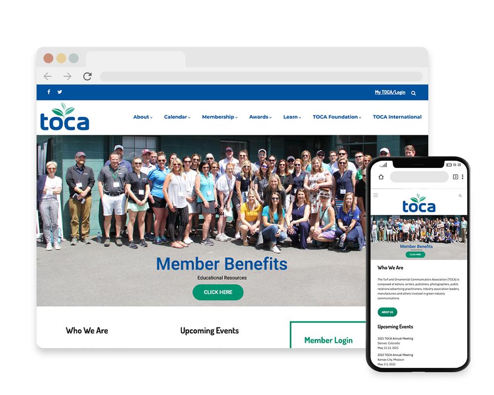 TOCA Website
