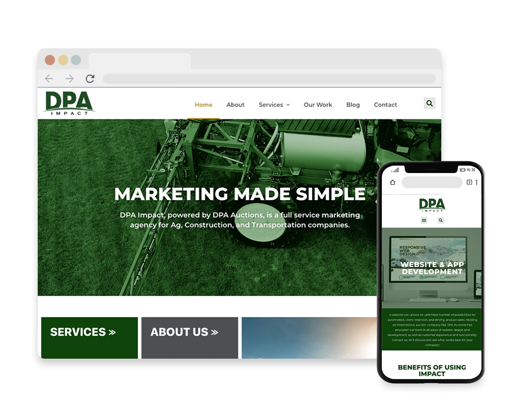 DPA Impact Website